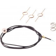 KELLERMANN | BL 1000 CABLE SET WITH EARTH CONTACT | Artikelcode: 100,904 | Cataloguscode: 2040-0756