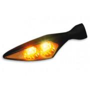 KELLERMANN | MICRO RHOMBUS EXTREME LED TURN SIGNAL FR/RL BLACK | Artikelcode: 166,250 | Cataloguscode: 2020-0559