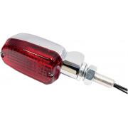 K&S TECHNOLOGIES | MARKER LIGHT ALUMINUM CHROME BODY RED LENS | Artikelcode: 25-8307CM | Cataloguscode: 2040-1151