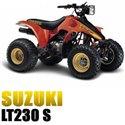 SUZUKI LT 230 S 1986-1987